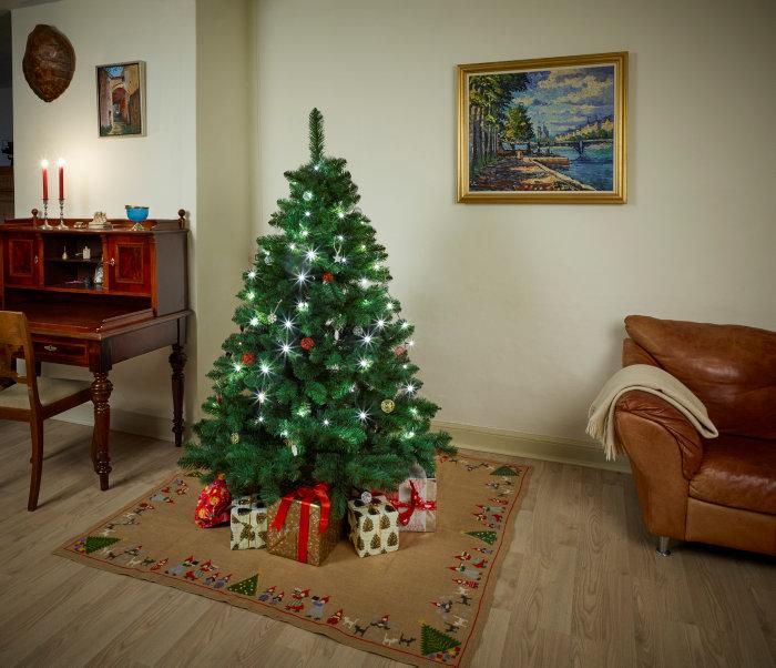 Super Juletræ i plastik - 180 cm - luksus | jem & fix NZ28