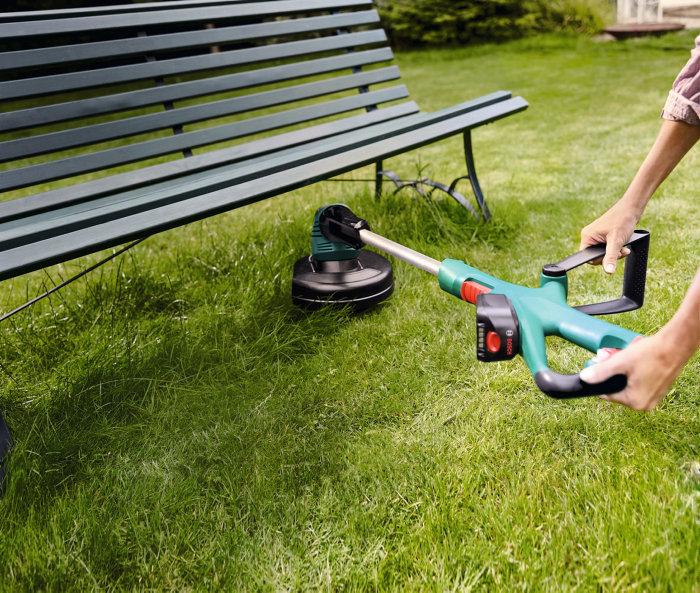 Højmoderne Bosch akku græstrimmer 18V 18-260 | jem & fix MX-85