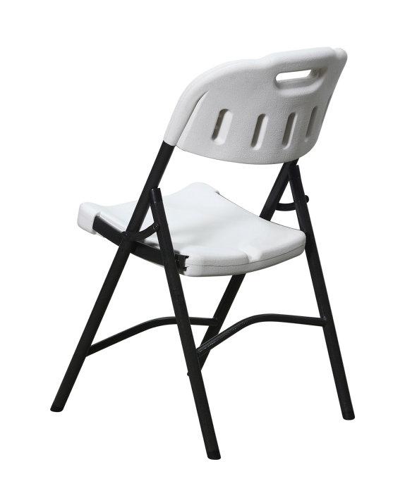 Cool Klapstol til haven - sort/hvid | jem & fix DG98