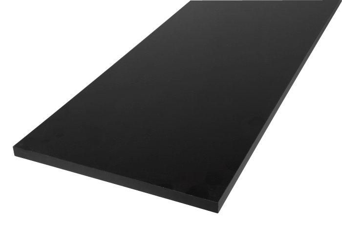 Hylla Melamin 300x1200 svart