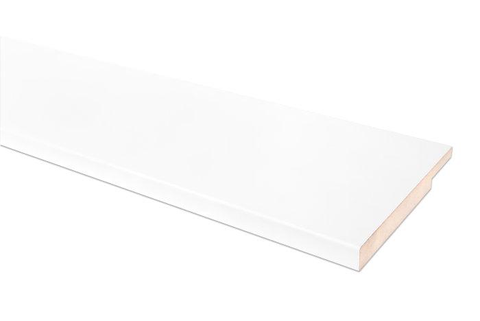 Superbly Vinduesbundstykke i hvid MDF - 35 x 240 cm | jem & fix PQ75