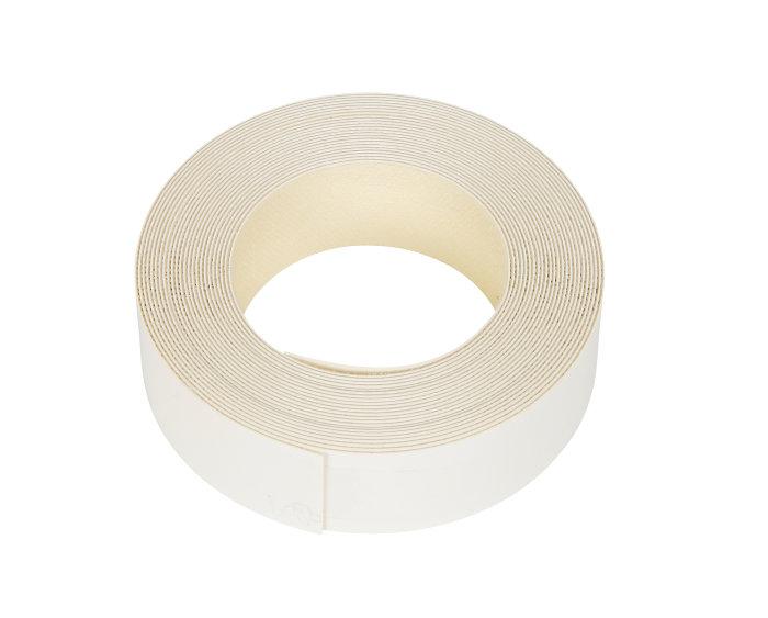 Kantbånd til melaminhylder hvid 24 mm x 5 meter