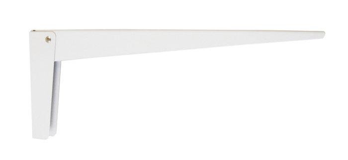 Foldbar bordbæring  400 x 160 mm HVID