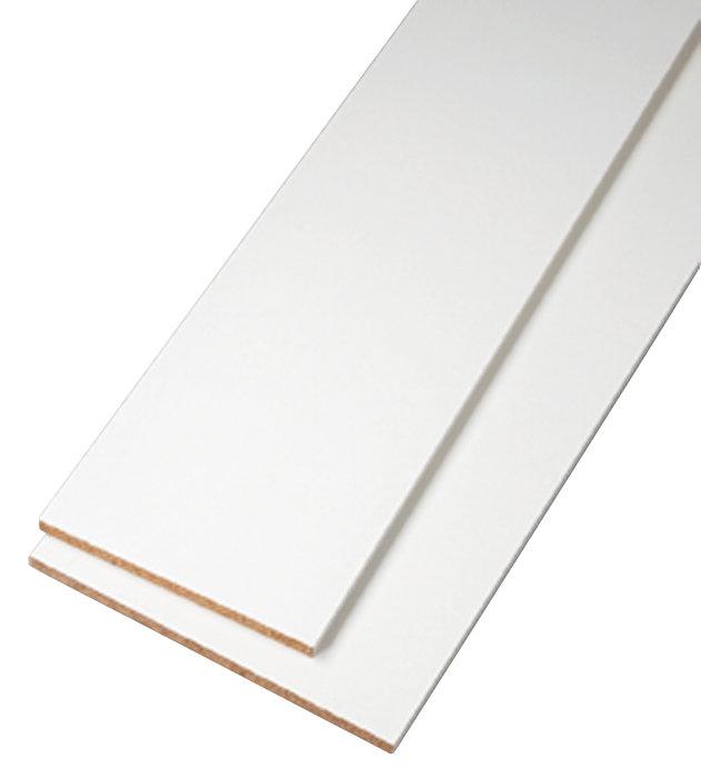 Hobbyplade hvid 18 mm x 30 cm x 250 cm