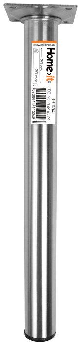 Bordbein 30 cm diam. 30mm stål