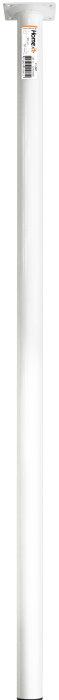 Bordben Ø30 mm x 80 cm hvid