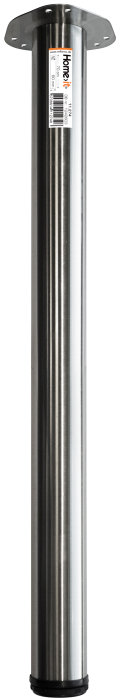 Bordben Ø60 mm x 70 cm stål
