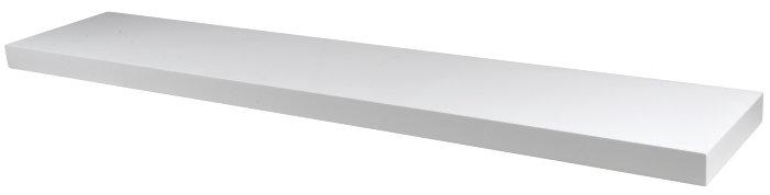 Svævehylde hvid 120 cm