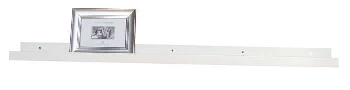 Gallerihylde hvid 100 cm