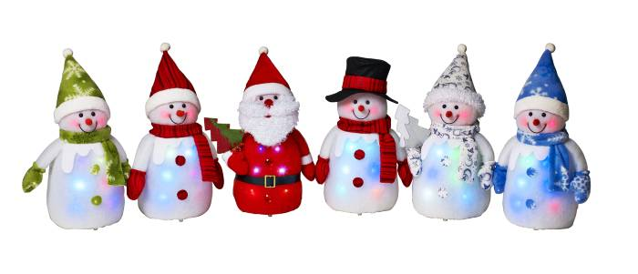 Julfigurer LED