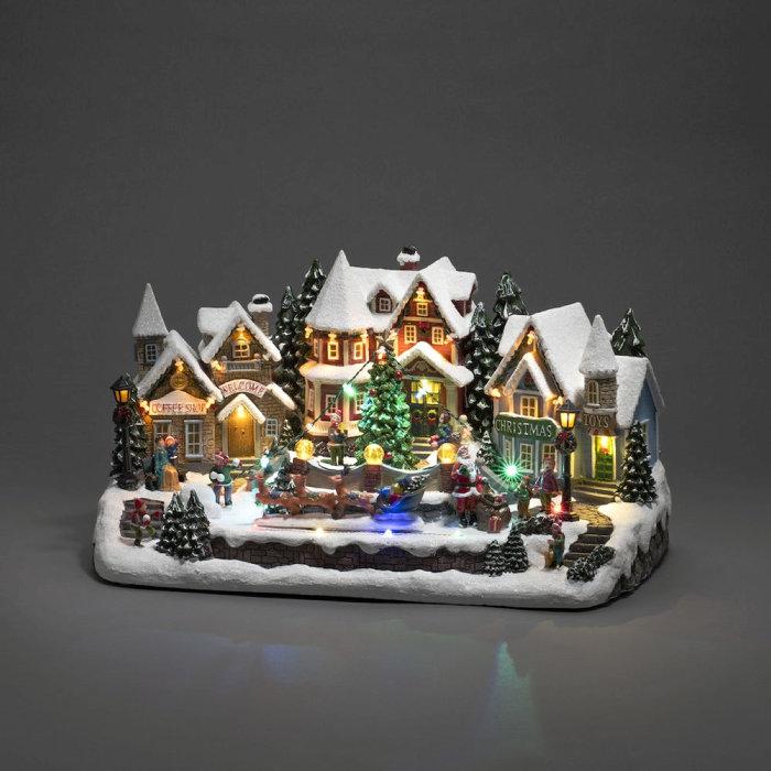 Juldekor Vinterby LED