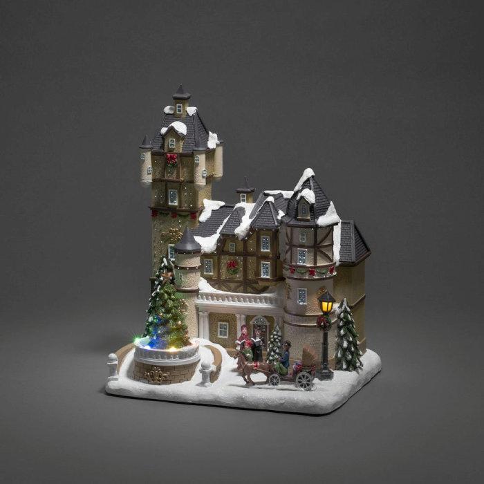 Juldekor Hus LED