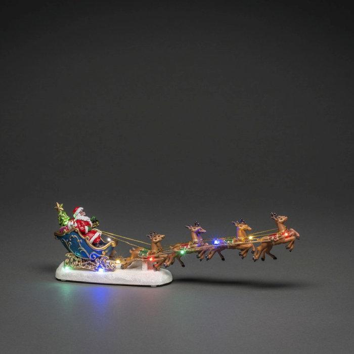 Tomte Släde LED