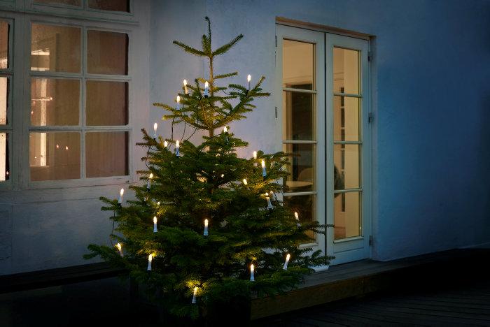 Juletræskæde 30 LED udendørs brug