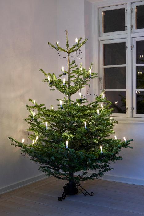 Juletræskæde 30 LED-pærer - indendørs brug