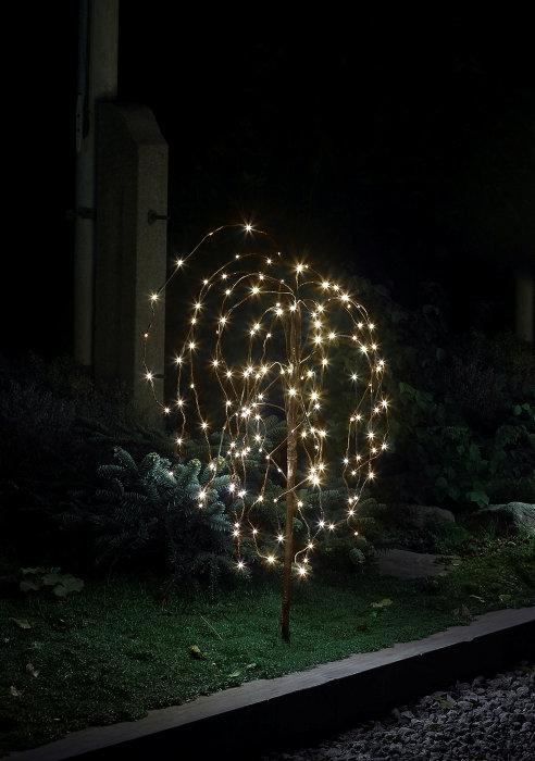 Hængepil med 140 LED-pærer - 100 cm