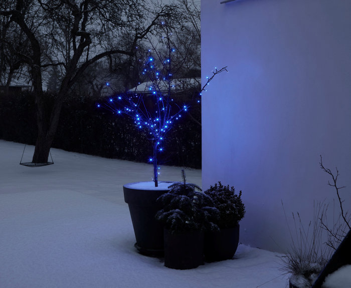 Ljusslinga 100 LED Blå