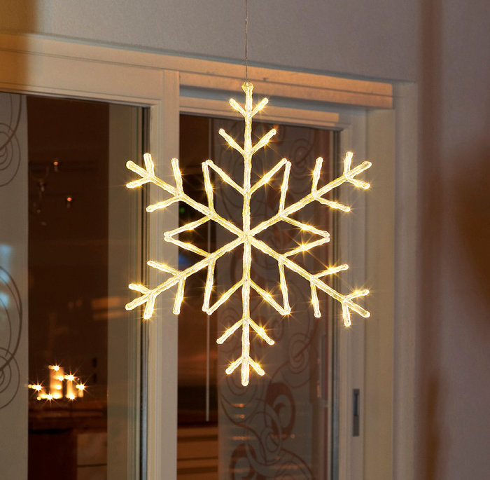 Snöflinga LED 60 cm