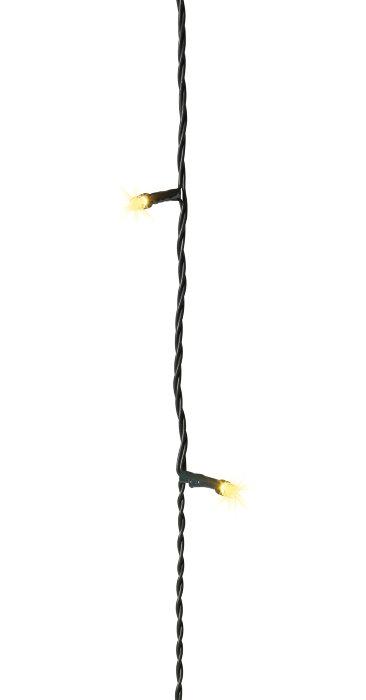 Lyskæde t/batteri - 100 LED-pærer