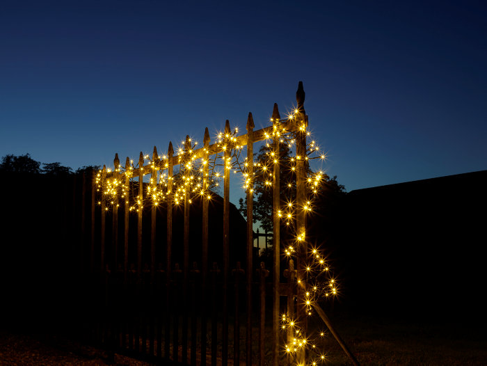 Klyngelys lyskæde - 192 LED-pærer