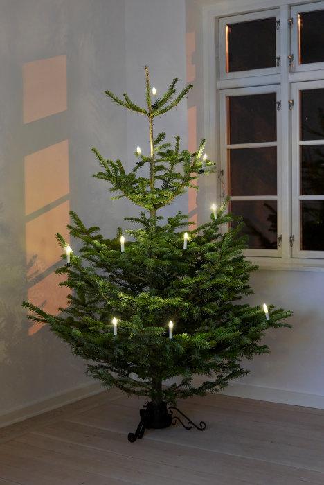 Julgransbelysning 10 LED ljus