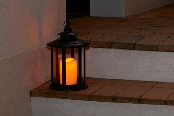 Ljuslykta LED IP44