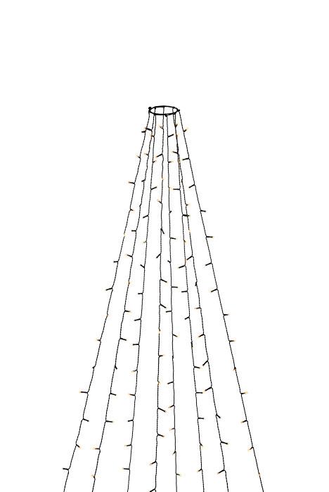 Ljusslinga julgran LED