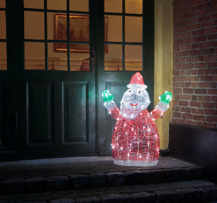 Julemand i akryl - 90 cm