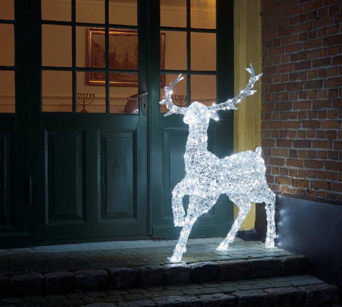 Ren med LED belysning 125 cm