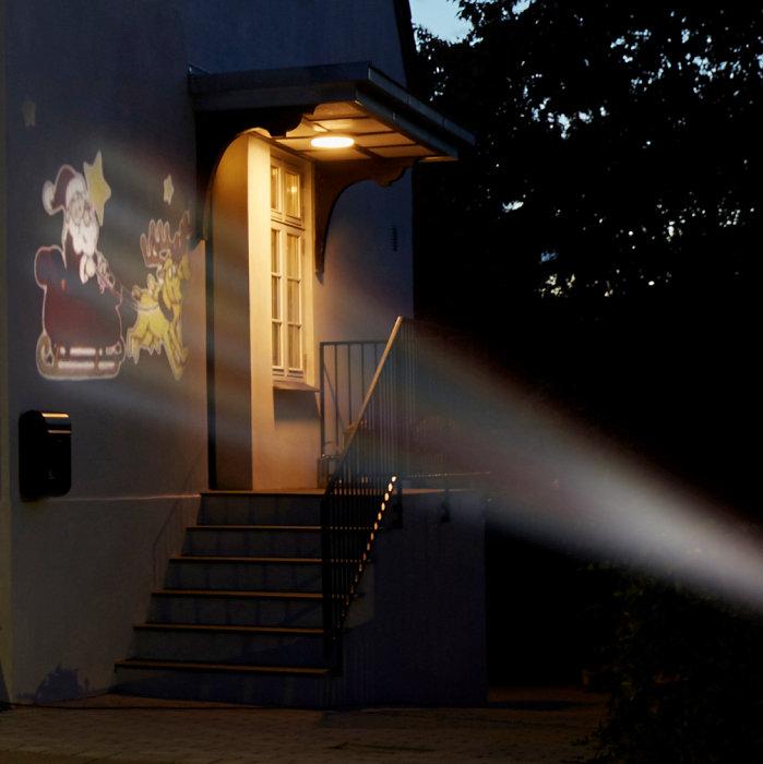 LED-spotlight julemand/kane