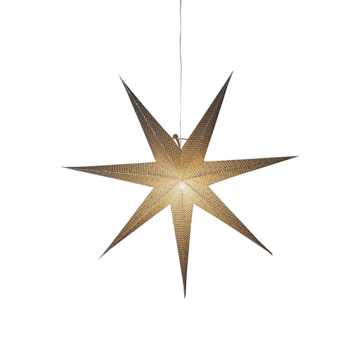 Adventsstjärna Silver 78 cm