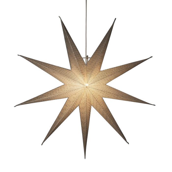 Adventsstjärna silver 115cm