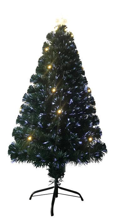 Juletræ 120 cm med optisk lys og 20 LED