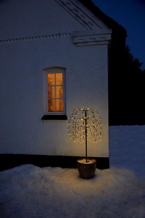 Hængepil 140 LED 100 cm - PRO julebelysning