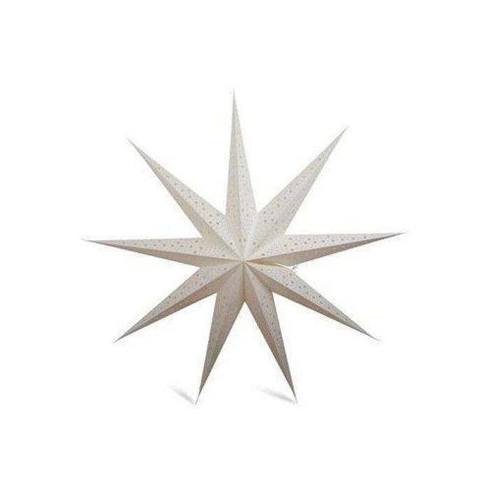 Adventsstjärna Vit 120 cm