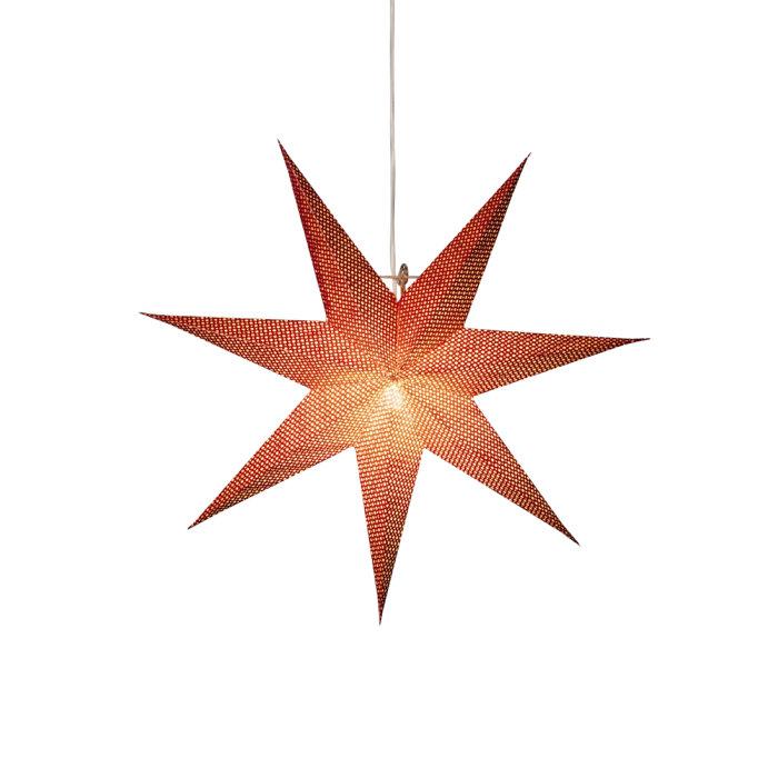 Adventsstjärna Röd 60 cm