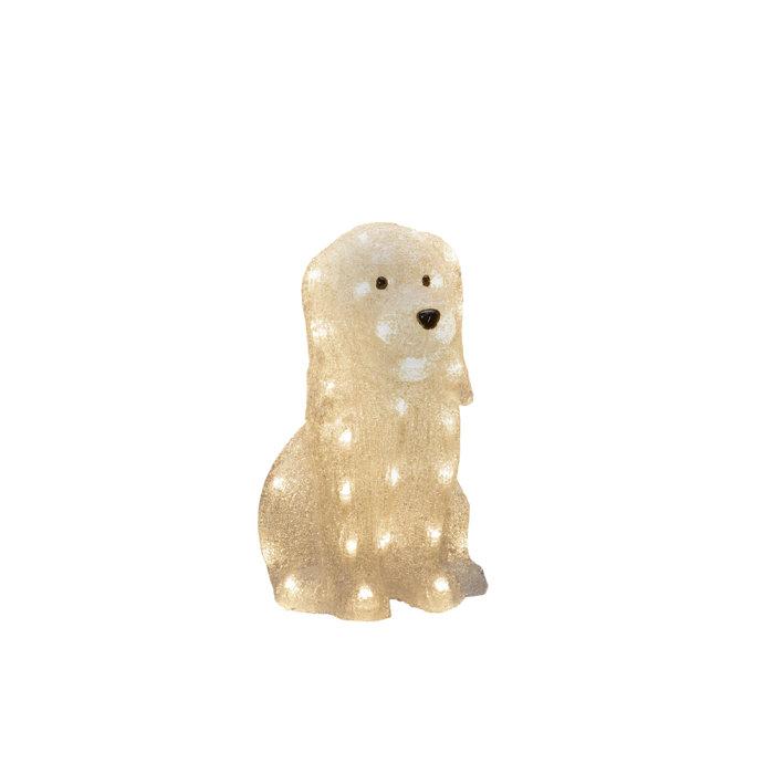 Sittande Hund LED