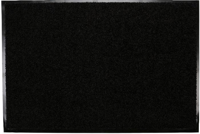 Dörrmatta Svart 80 x 120 cm