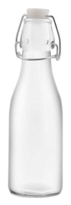 Saftflaske med patentprop 0,25 liter