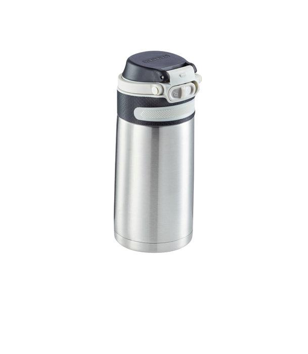 Leifheit termokrus Flip 350 ml sølv