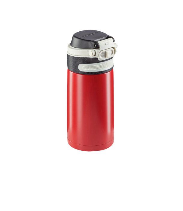 Leifheit termokrus Flip 350 ml rød