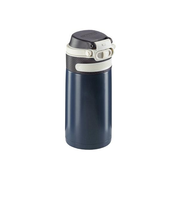 Leifheit termokrus Flip 350 ml mørkeblå