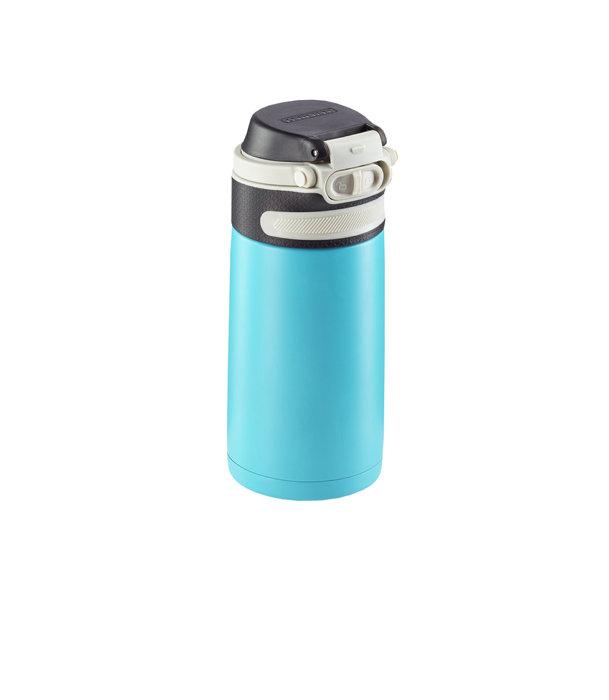 Leifheit termokrus Flip 350 ml lyseblå