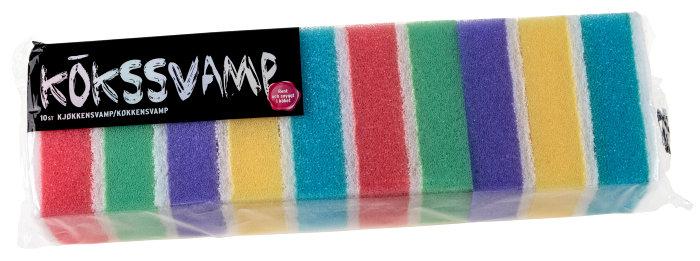 Kökssvamp 10-pack