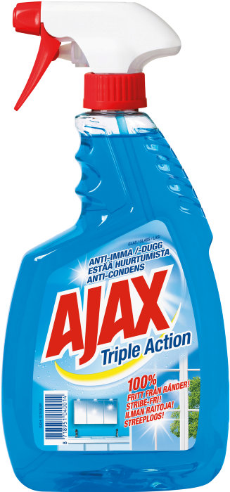Ajax Glas Triple Action