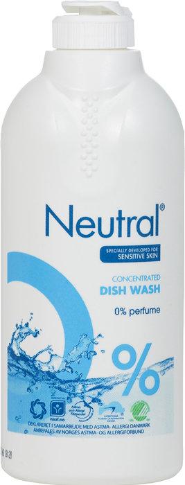 Neutral opvaskemiddel 2 x 500 ml