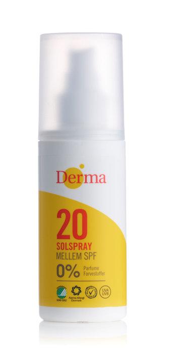 Derma Solspray SPF20 150 ml