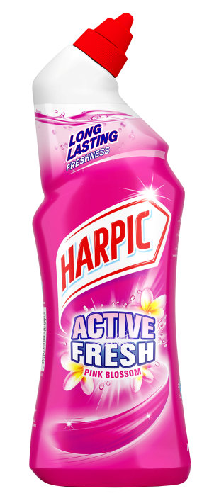 Harpic toiletrens pink blossom