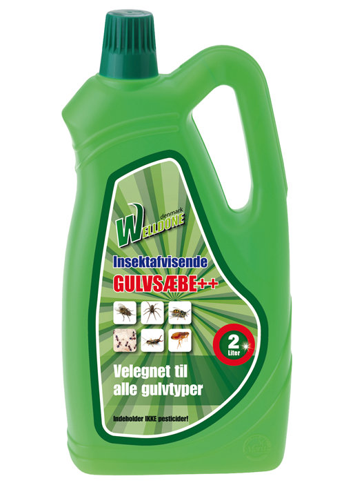 Gulvsæbe 2 liter - Welldone