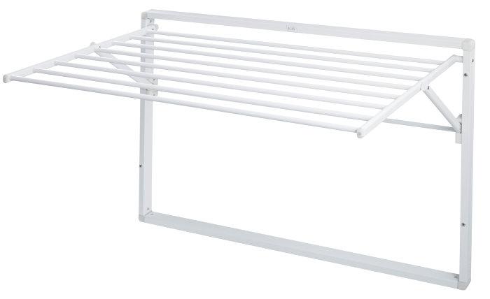 KAY veggmontert tørkestativ - hvit